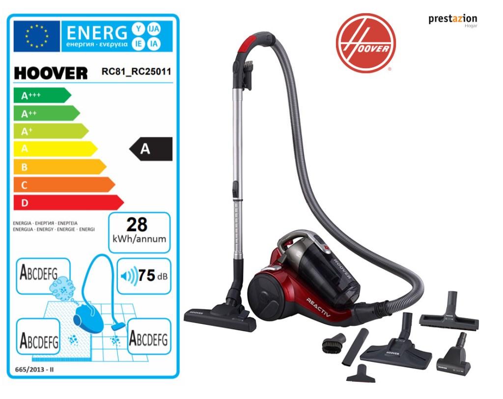 Hoover reactive aspirador sin bolsa-RC81_RC25011