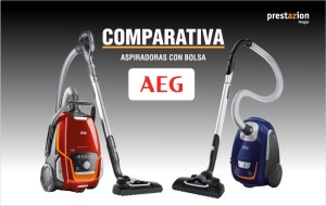 aspiradoras CON bolsa AEG -COMPARATIVA