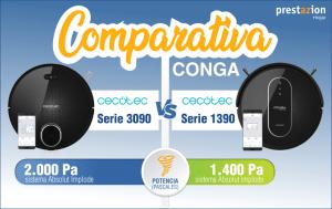 Conga Cecotec-comparativa-serie 3090-1390