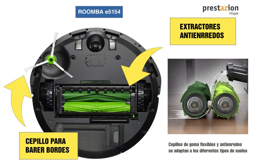 iRobot Roomba e5154-EXTRACTORES PARA PELOS DE MASCOTA
