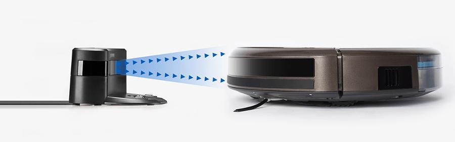 robot aspirador DEEBOT N79S -carga bateria