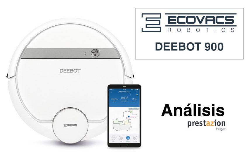 Ecovacs DEEBOT 900 Robot Aspirador-PRECIO OPINION