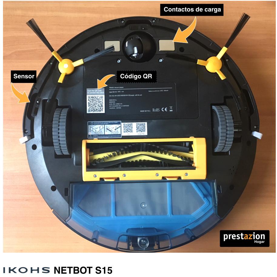 IKOHS NETBOT S15-vista inferior