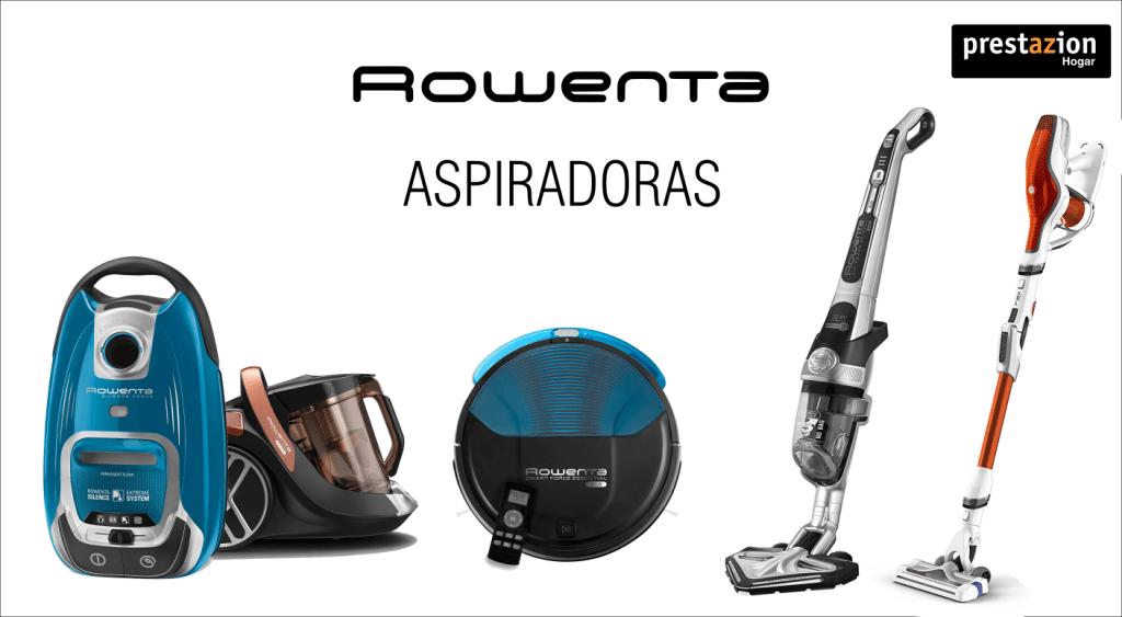 Aspiradoras Rowenta (con bolsa sin bolsa, sin cable, escoba, robot aspirador)