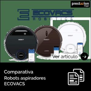 mejores robots aspiradores-ECOVACS