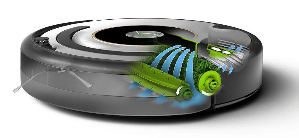 Doble cepillo de Roomba