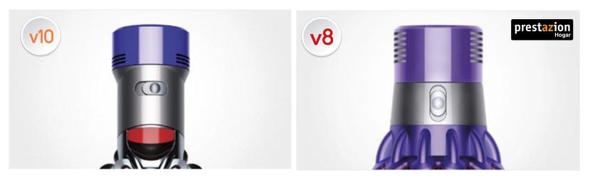 Comparativa Dyson V10 Motorhead vs. V8 Absolute Pro motor