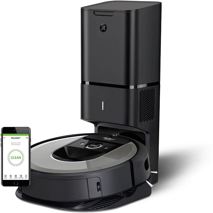iRobot Roomba i7+ (i7556) -Robot Aspirador Wi-Fi, Autovaciado