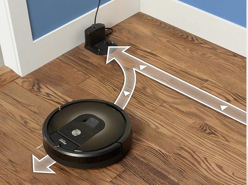 carga y reanudacion Roomba