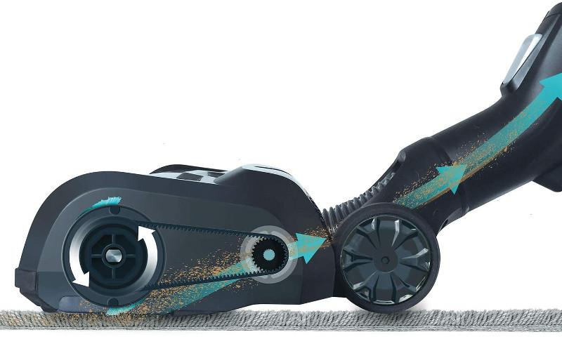 Cabezal motorizado de aspiradora Bissell