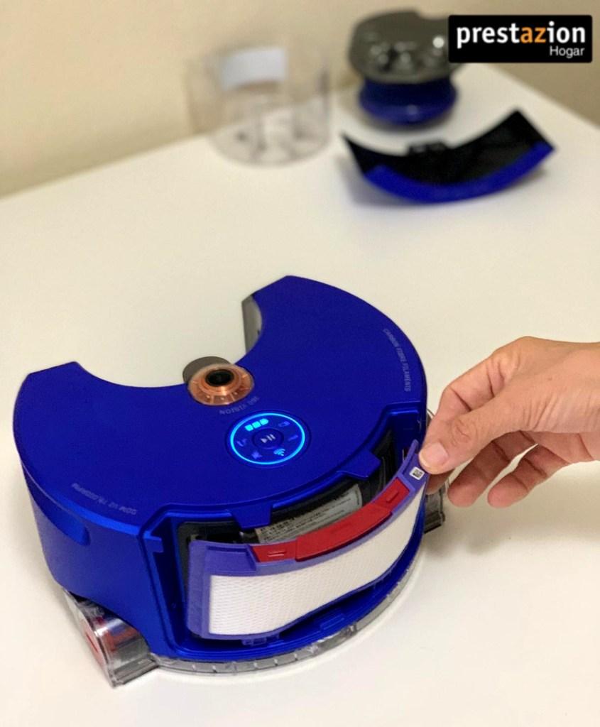 filtro de alta eficiencia Dyson 360 Heurist