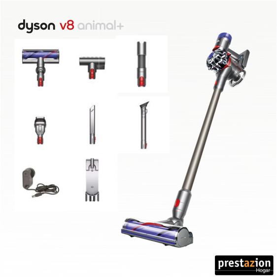 Dyson V8 Animal Plus accesorios con manguera extensible
