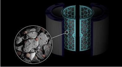 Filtro de carbono activo