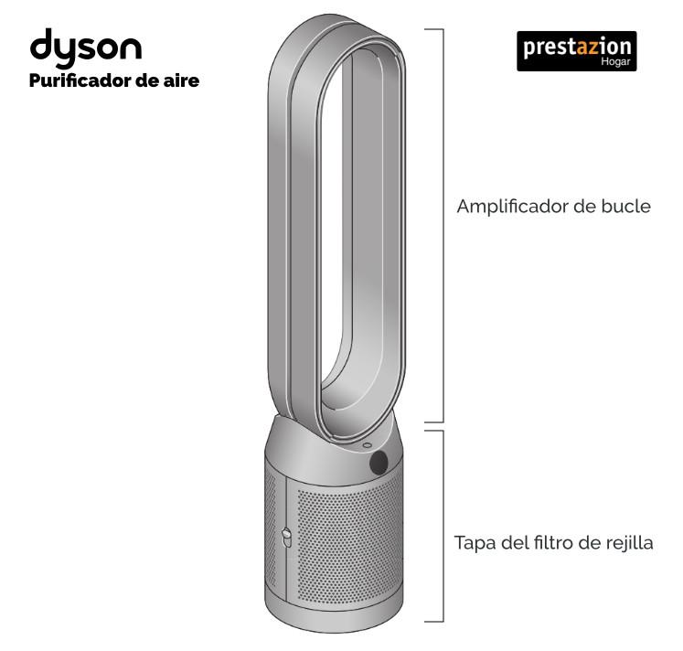 Diseño purificador de aire Dyson