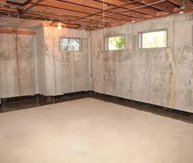Basement Waterproofing Wet Basement Repair Company Finished