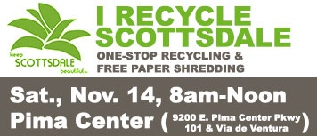 Prestige Cleaners participates in the 1st I Recycle Scottsdale event