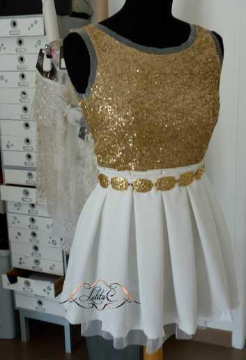 Lolita C. Création de robe de soirée Bordeaux
