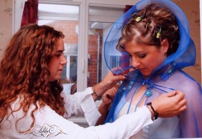 Robe Natalie prestige création couture Bordeaux