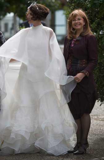Création de robes de mariées à Bordeaux