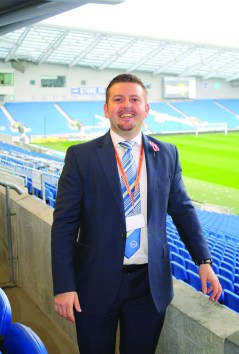 Tony Crosbie, General Manager, The Amex