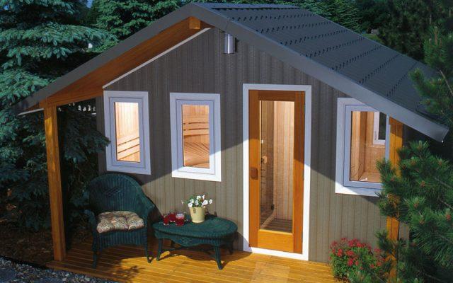 FINNLEO Metro outdoor sauna
