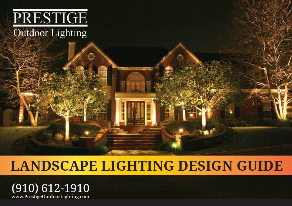 Prestige Outdoor Lighting Design Guide Cover ... : landscape lighting design - www.canuckmediamonitor.org