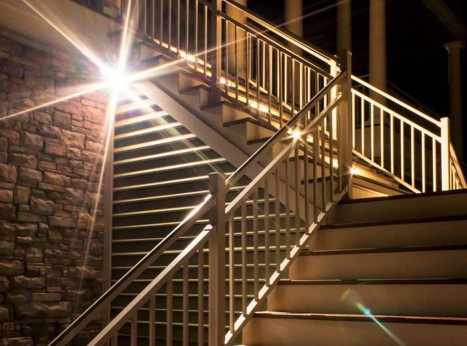 Top Tips for Outdoor Stairway Lighting