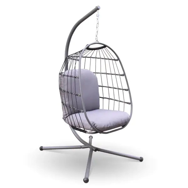 Nicole Miller Patio Hanging Egg Chair