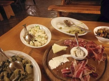 Pasterskie jadło w agro turismo