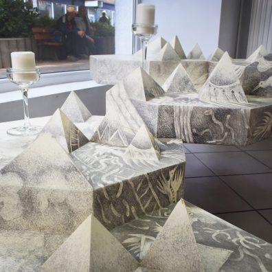 Edward Rokosz - forma przestrzenna (stół)