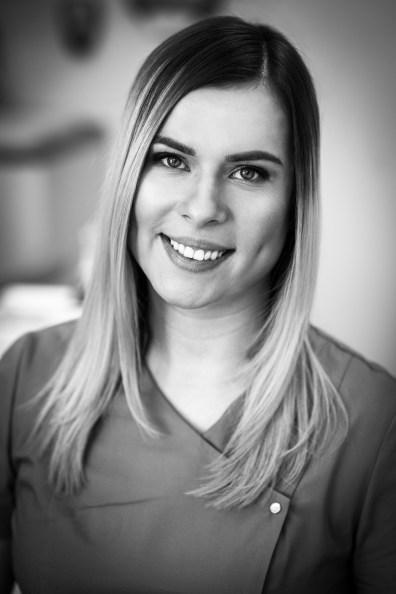 Angelika Witkowska, asystentka stomatologiczna