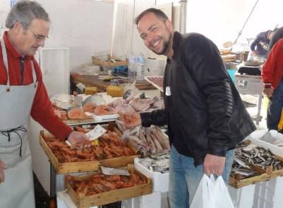 Sycylja targ rybny w Trapani