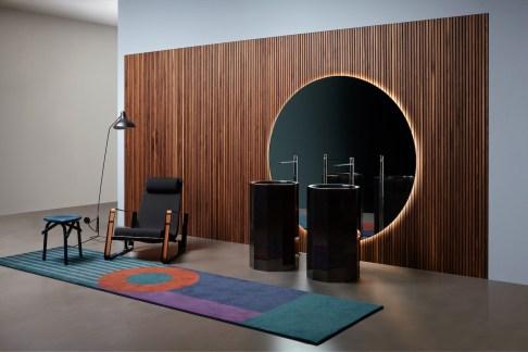 Mood-Design_antoniolupi CIRCLE specchio lavabo VITREO tappeti (3)