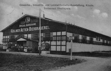 Pawilon Koesliner Aktien-Bierbrauerei podczas wielkiej wystawy przemysłowo-rolniczej w 1912 r. (Archiwum prywatne).