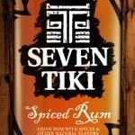 Seven Tiki™ Backlit Sign