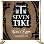 Seven Tiki™ Backdrop