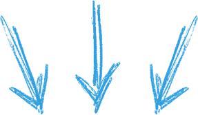 3fleches bleues