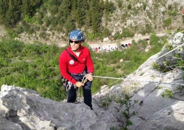 Ekipa za helikoptersko reševanje v gorah, včeraj posredovala dvakrat