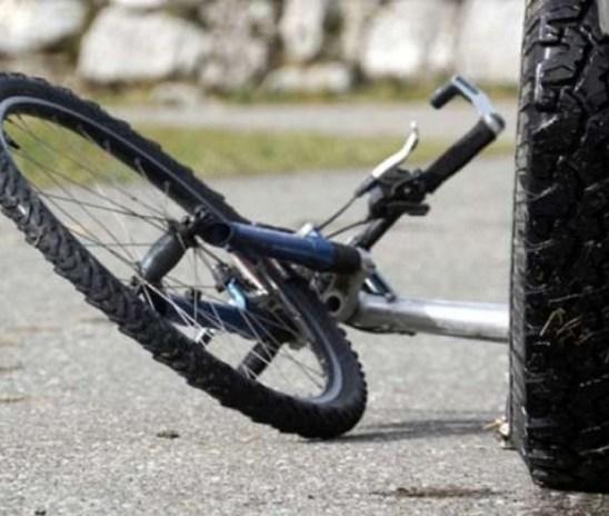 V prometni nesreči poškodovan mladoletni kolesar