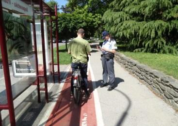 V četrtek bodo poostreno nadzirali kršitve, povezane s problematiko kolesarjev