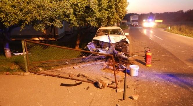 Neprilagojena hitrost botrovala prometni nesreči v Šempetru pri Gorici