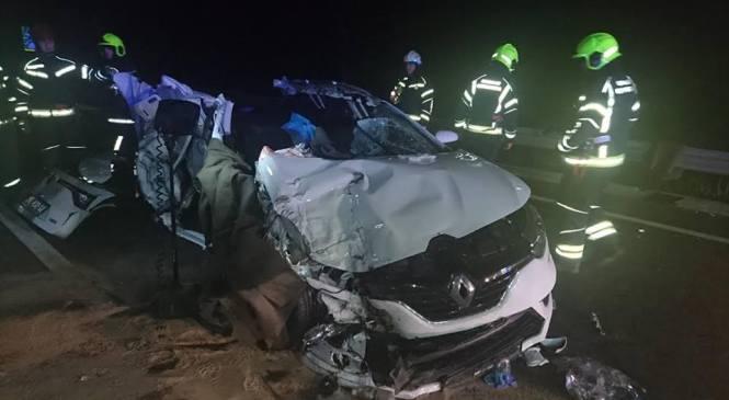 Raubarkomanda: V prometni nesreči umrl sopotnik