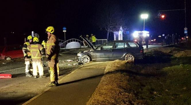 Gornji Petrovci: V prometni nesreči dve poškodovani osebi