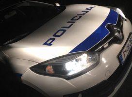 V preteklem dnevu policisti obravnavali pet kršitev javnega reda in miru