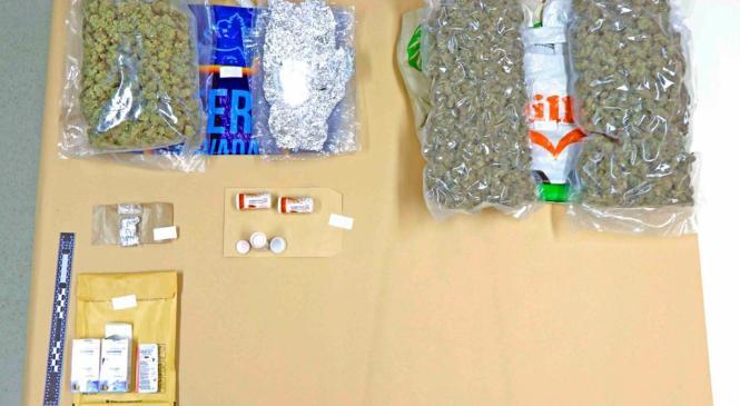 Policisti zalotili 33 letnega osumljenca, ki je preprodal prepovedano drogo konopljo drugi osebi