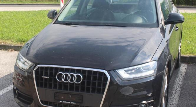 Policisti zasegli ukraden Audi Q3