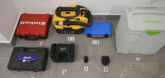 Je kateri od zaseženih predmetov vaš?