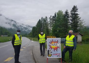 Na območju PU Nova Gorica bo ta vikend potekala preventivna akcija Hitrost