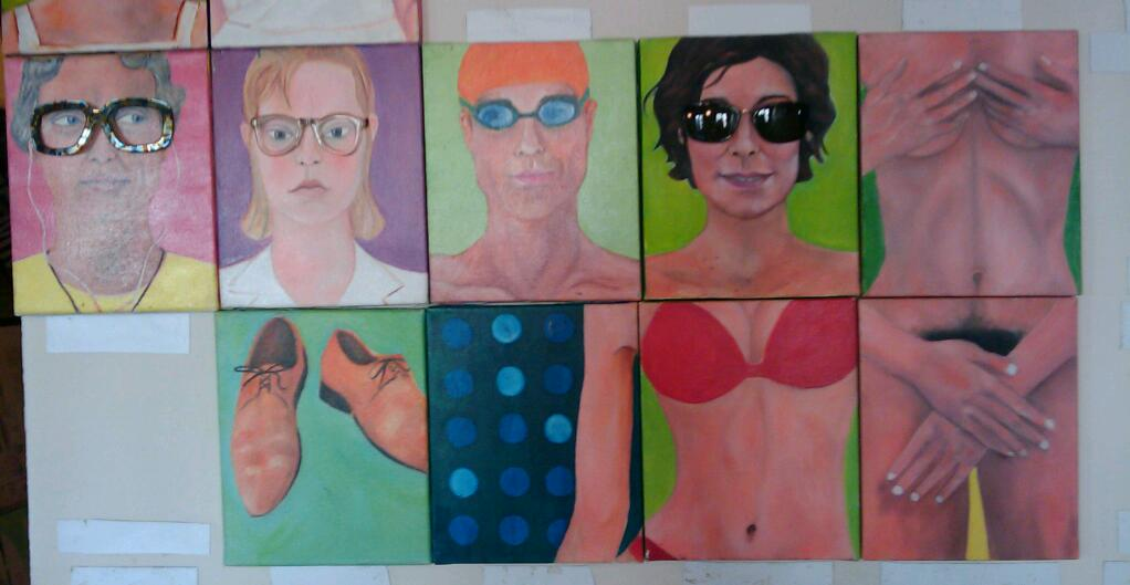 painting artist 59 Rivoli