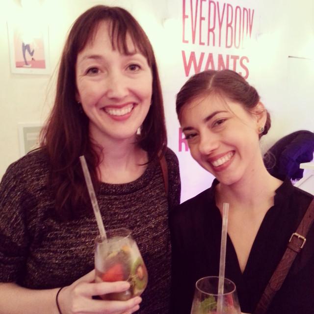 Anne Ditmeyer and Sasha Romary